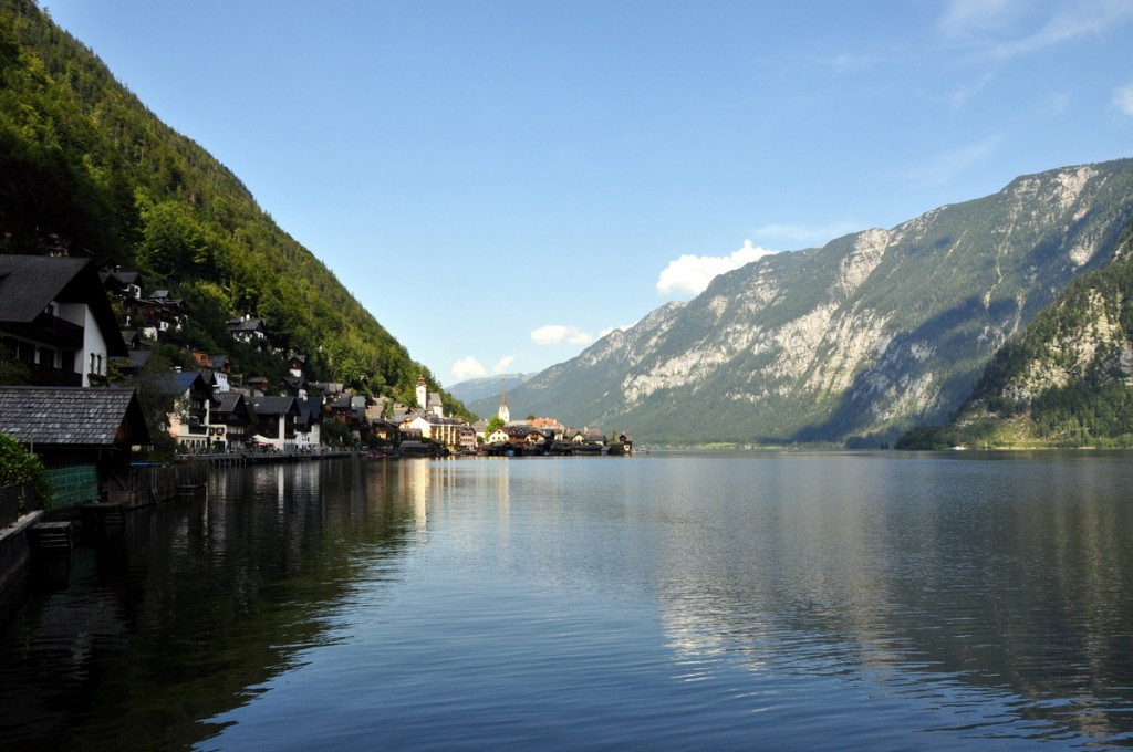 The town of Hallstatt, Austria is one of the most picturesque towns we have ever visited. We were fortunate to get one amazing day of sunshine - there really wasn't much to do on our second day in the rain.