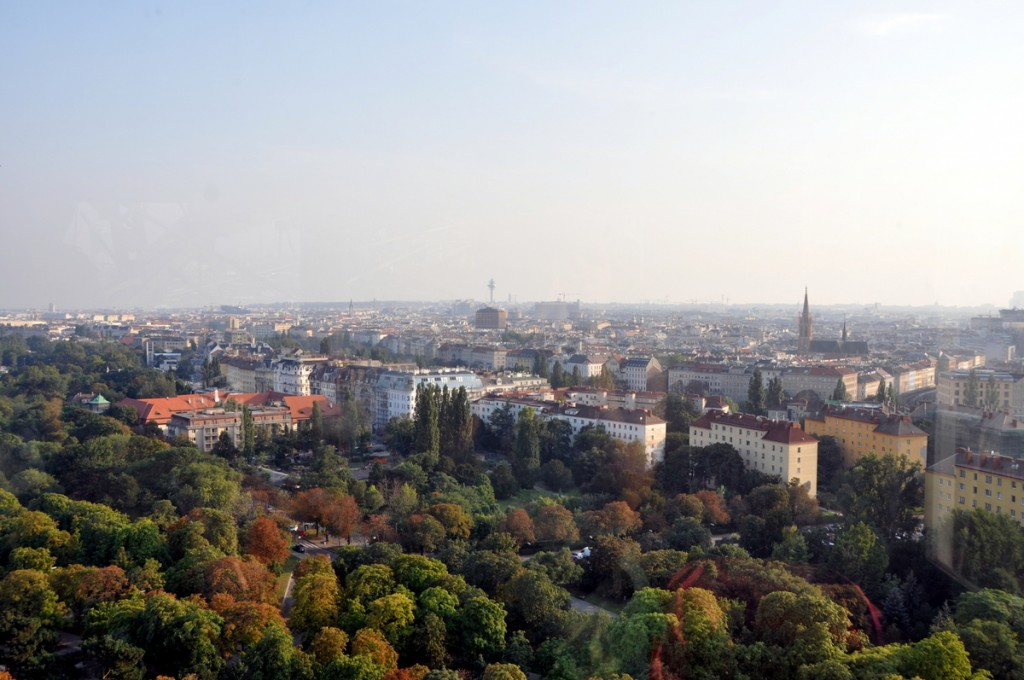 View from the Riesenrad (Ferris Wheel)
