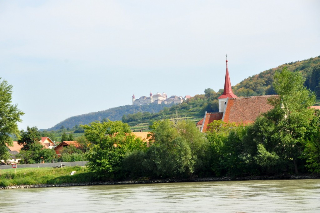 We took a day cruise along the Danube, from Melk to Krems