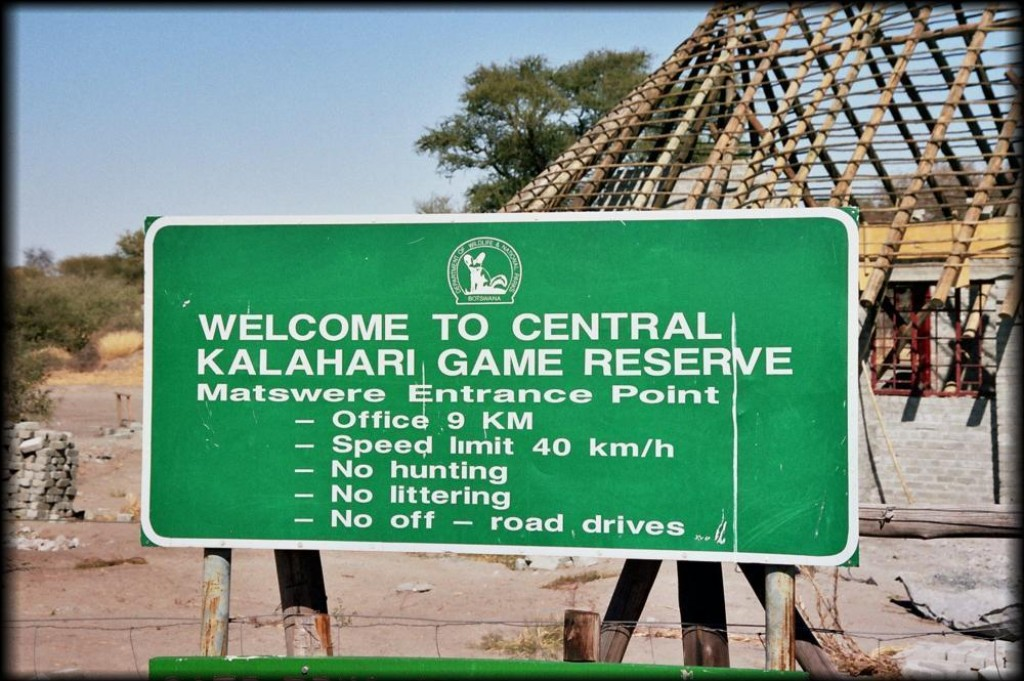 We visited the Central Kalahari Game Reserve in Botswana. It was the most remote, wildest part of our safari and we loved it.  We went days without seeing another human being, or even a power line.
