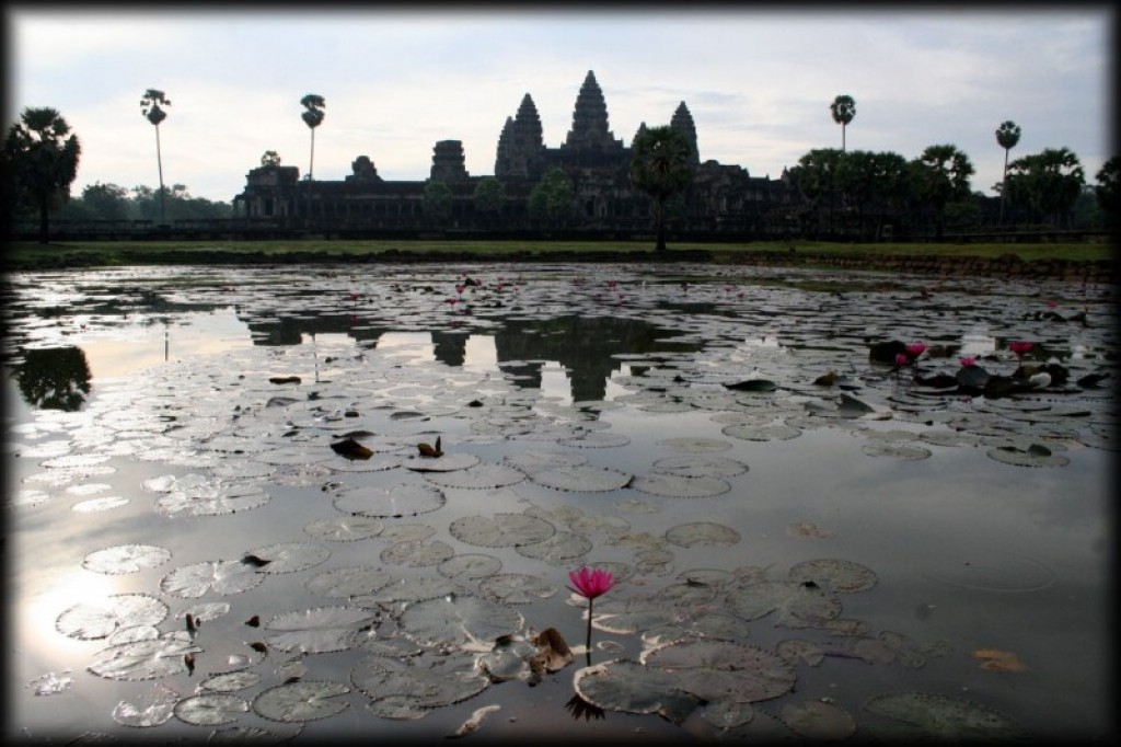 The main reason we went to Cambodia of course was to see Angkor Wat.  The temple is fabulous.