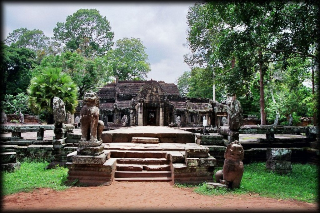 Banteay Kdei was built sometime during the 12th to 13th centuries.