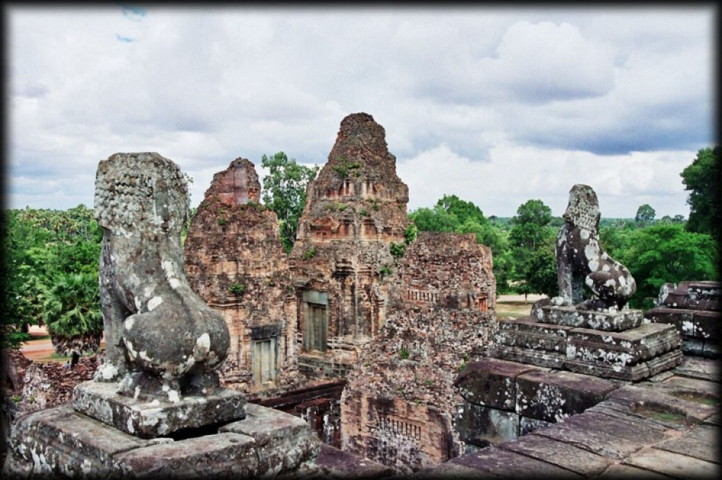 Pre Rup is a Hindu temple built in the second half of the tenth century.