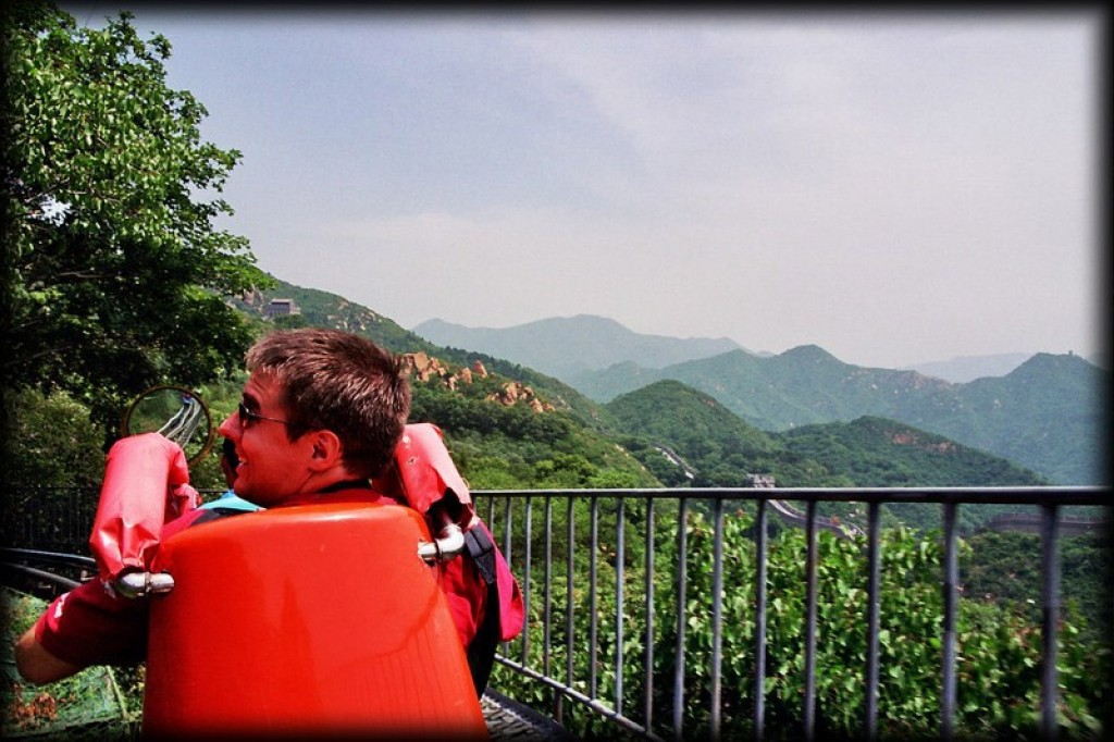 Just 3 hours outside of Beijing, we visited the Bataling section of the Great Wall of China.