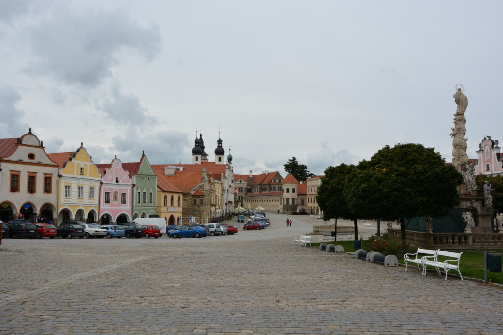 Telc main square, UNESCO World Heritage Site