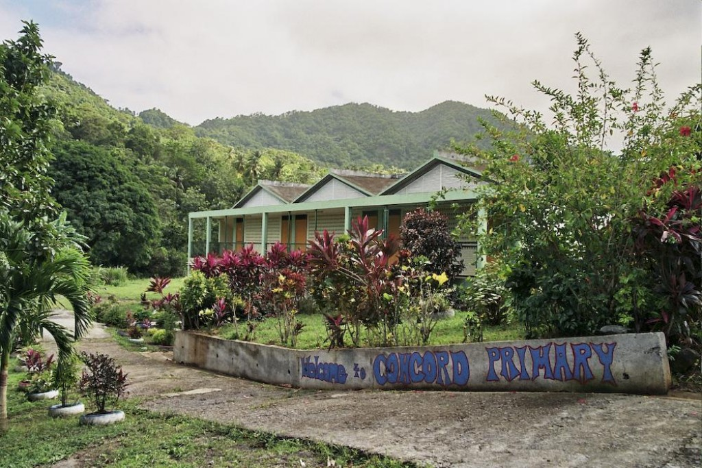 Welcome to Concord Primary School, school in the Carib Territory