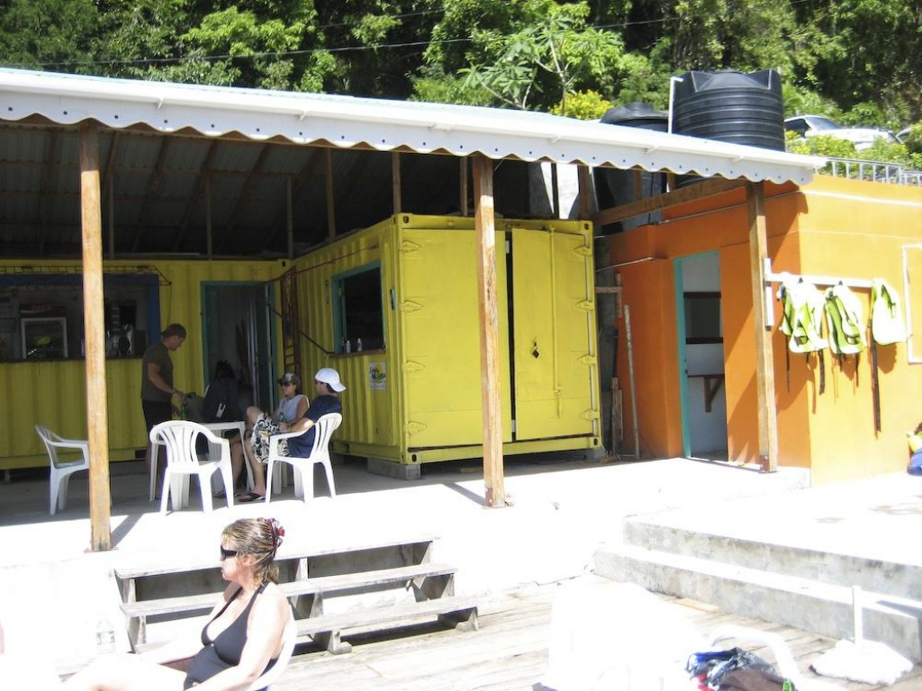 The facilities at the entrance to the park were very good - they rent out snorkeling and diving equipment, they have fresh water showes, and beer.