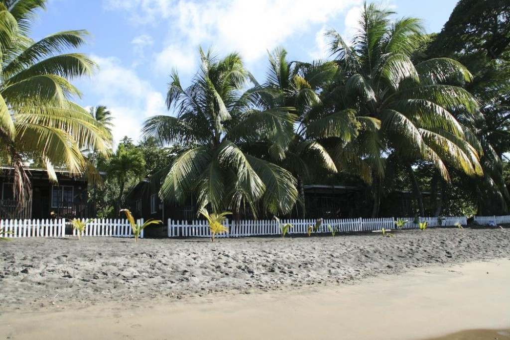 We stayed for New Year's at Portsmouth in Picard Beach, in Dominica.