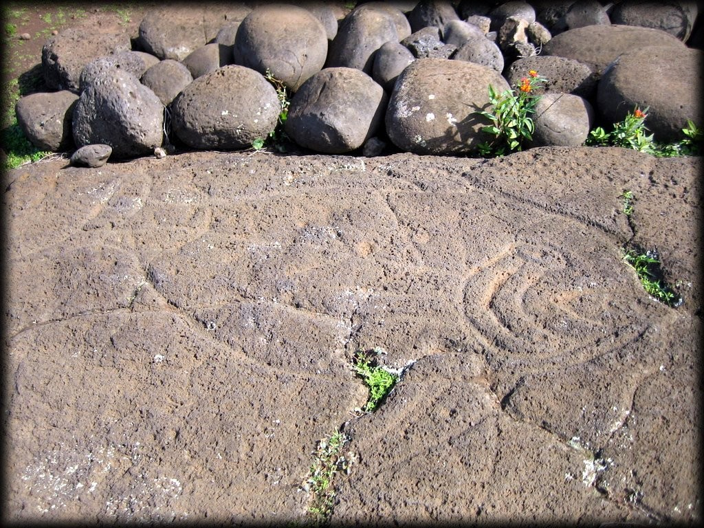 Petroglyph (rock carving)