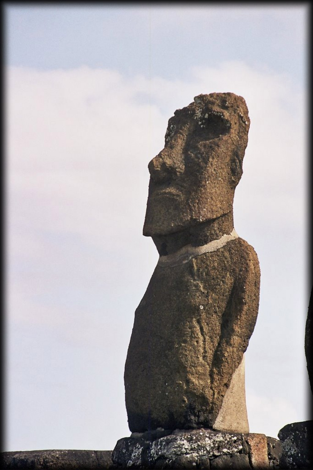There are a lot of ahu and moai in walking distance from Hanga Roa.  Also, pictures of our hotel.