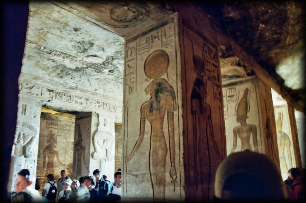 A highlight of our trip was visiting Abu Simbel in the south of Egypt