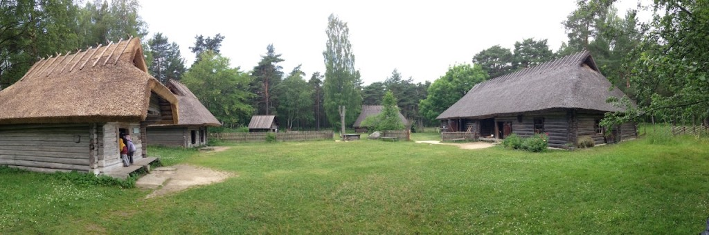 Just outside Tallinn, the Estonian Open Air Museum gives a fascinating look at the history of Estonian life through the centuries.  Various houses from various times have been relocated from other areas to the park's grounds and grouped by age.