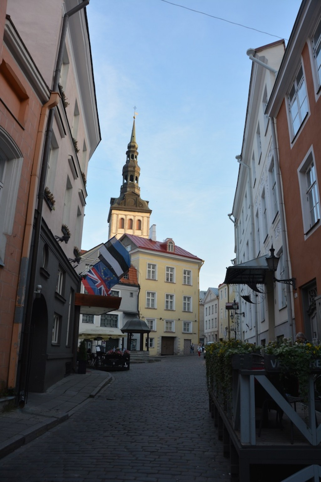There is a lot to see and explore in Tallinn.  Beautiful old Russian churches, fascinating markets and old cobbled streets, and some great parks.