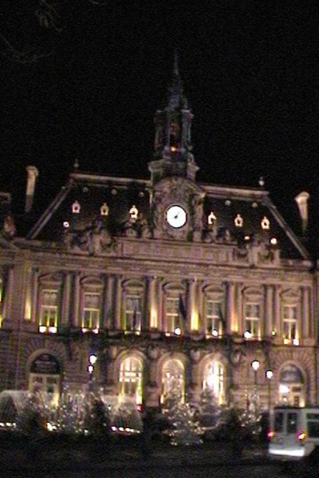 This is the Hotel de Ville.  Tours is a beautiful, clean, lively city.