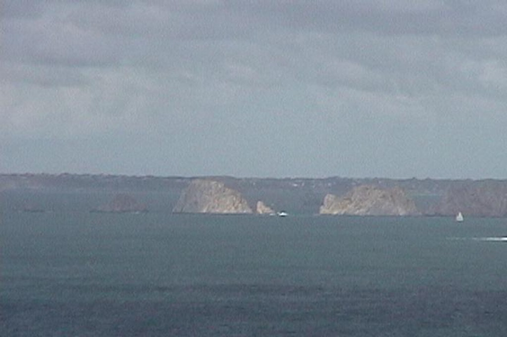 Cap de la Chèvre, at southern tip of the Presqu'île de Crozon (Crozon Peninsula).