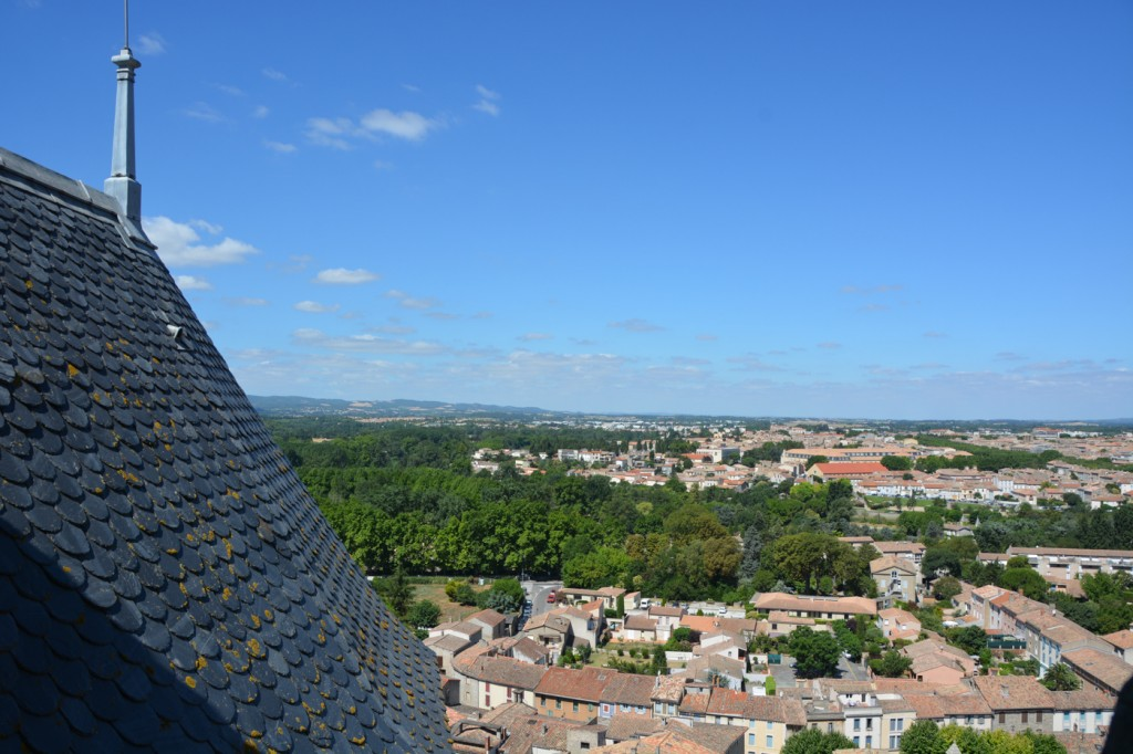 View from the Chateau Comtal