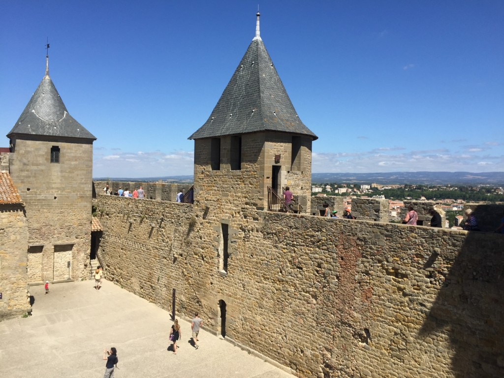 We spent a lovely afternoon in Carcasonne, exploring the old city, the cathedral, and the walls of the castle.