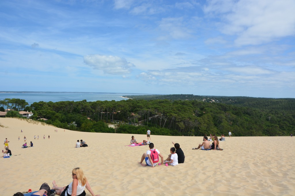 The Dune of Pilat, also called Grande Dune du Pilat. Close to Bordeaux, it is Europe's tallest sand dune. The kids had so much fun!