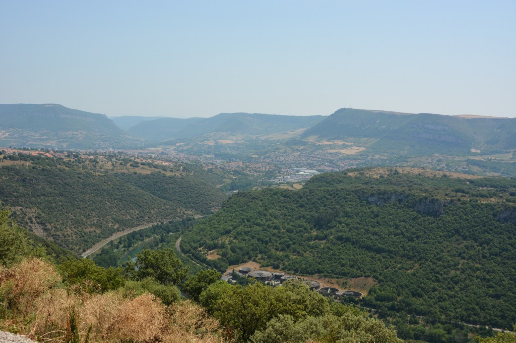 The valley of MIllau
