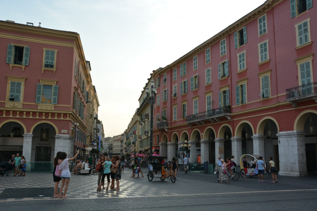 At the end of our trip, we explored Nice.  It was a little too crowded for our liking, but once we got out of the tourist areas things were a little better.  The playground and the Promenade du Paillon area were incredible - especially for the kids.