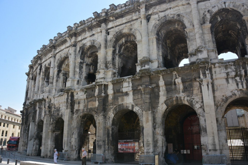The arena of Nimes.