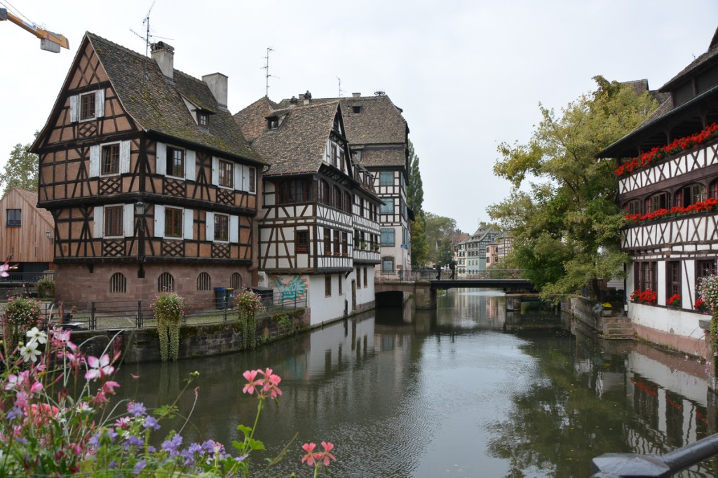Strasbourg is pretty compact, very dense, but full of wonderful sights, including the magnificent cathedral.  We also really enjoyed the squares, exploring the canals and the shopping.