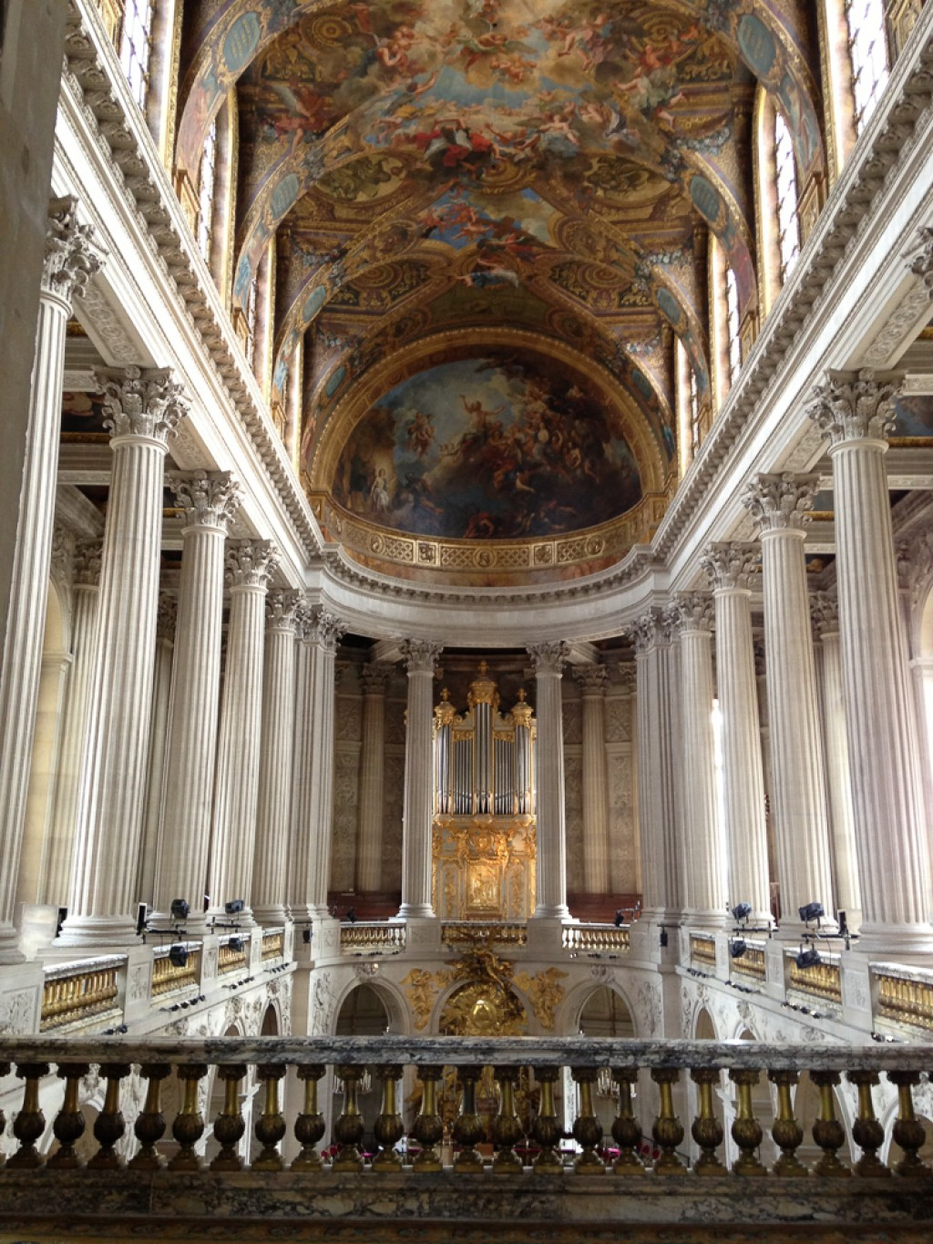 The Versailles Chapel, one of the grandest rooms