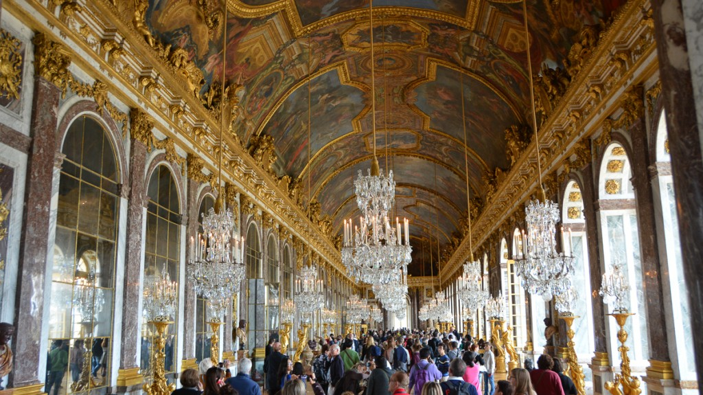 Probably the most famous room, the Hall of Mirrors is truly unforgettable.