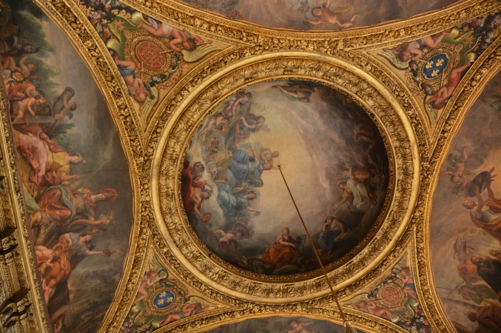 We visited the Chateau de Versailles, close to Paris