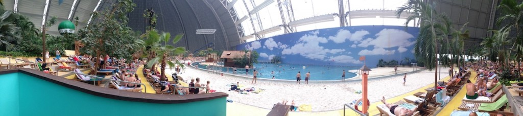 Tropical Islands is the largest indoor water park.  It was an amazing way to finish our trip - we had a great time, and so did the kids.  This is what traveling is about!