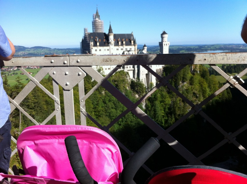 Stroller friendly Neuschwanstein!