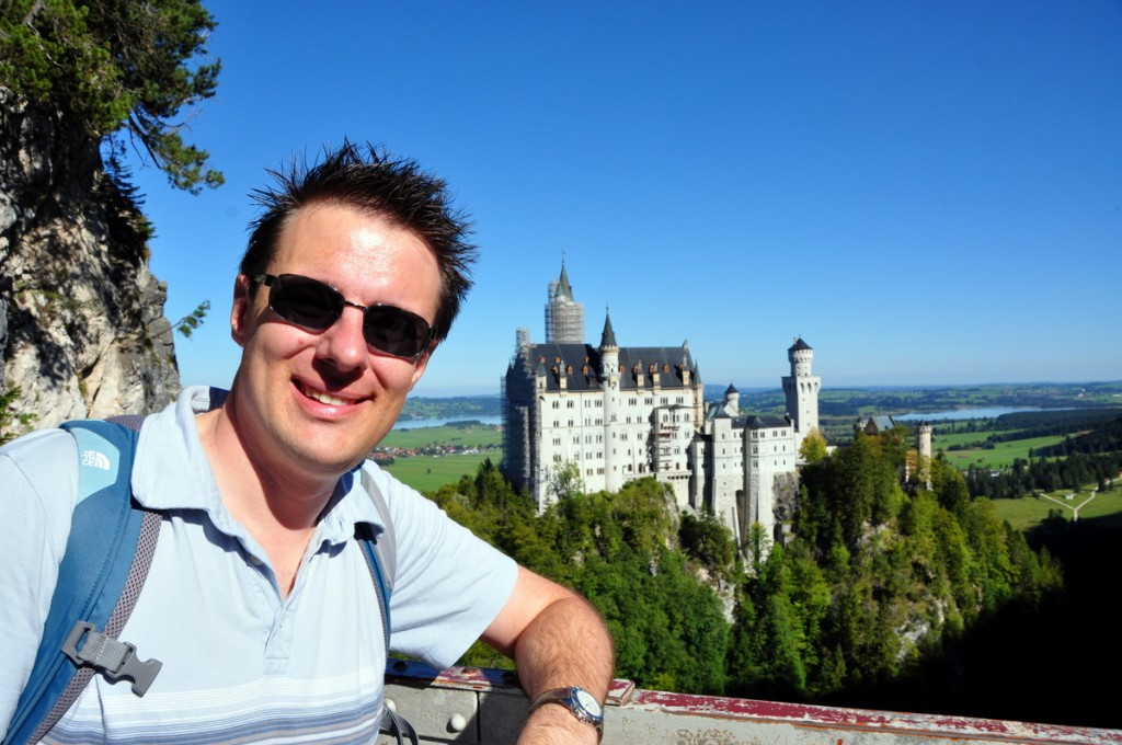 We visited Fussen to see Neuschwanstein Castle and Hohenschwangau Castle.  The castle was beautiful, but at times it was difficult with two little kids.