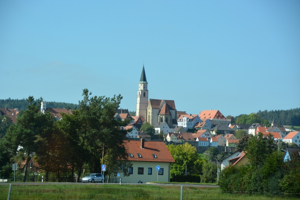 Cute little town seen on our way from Prague to Regernsburg. No idea where, sorry!