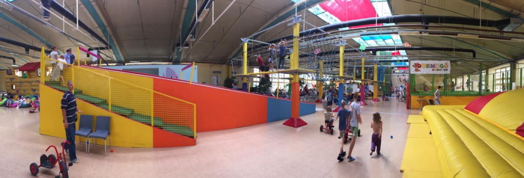 Our first stop in Budapest was Elevepark, an awesome indoor playground on the outskirts of Budapest.  We spent a couple of hours here but it could have easily filled a whole day.  Highly recommended for a rainy day or to burn off energy!