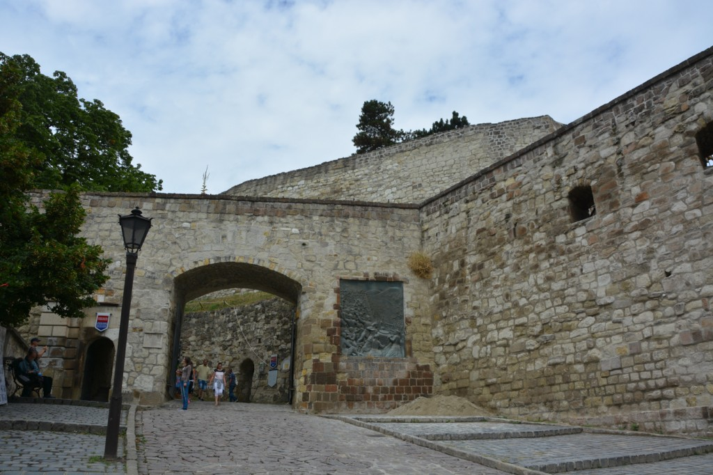Headed up to the Castle of Eger
