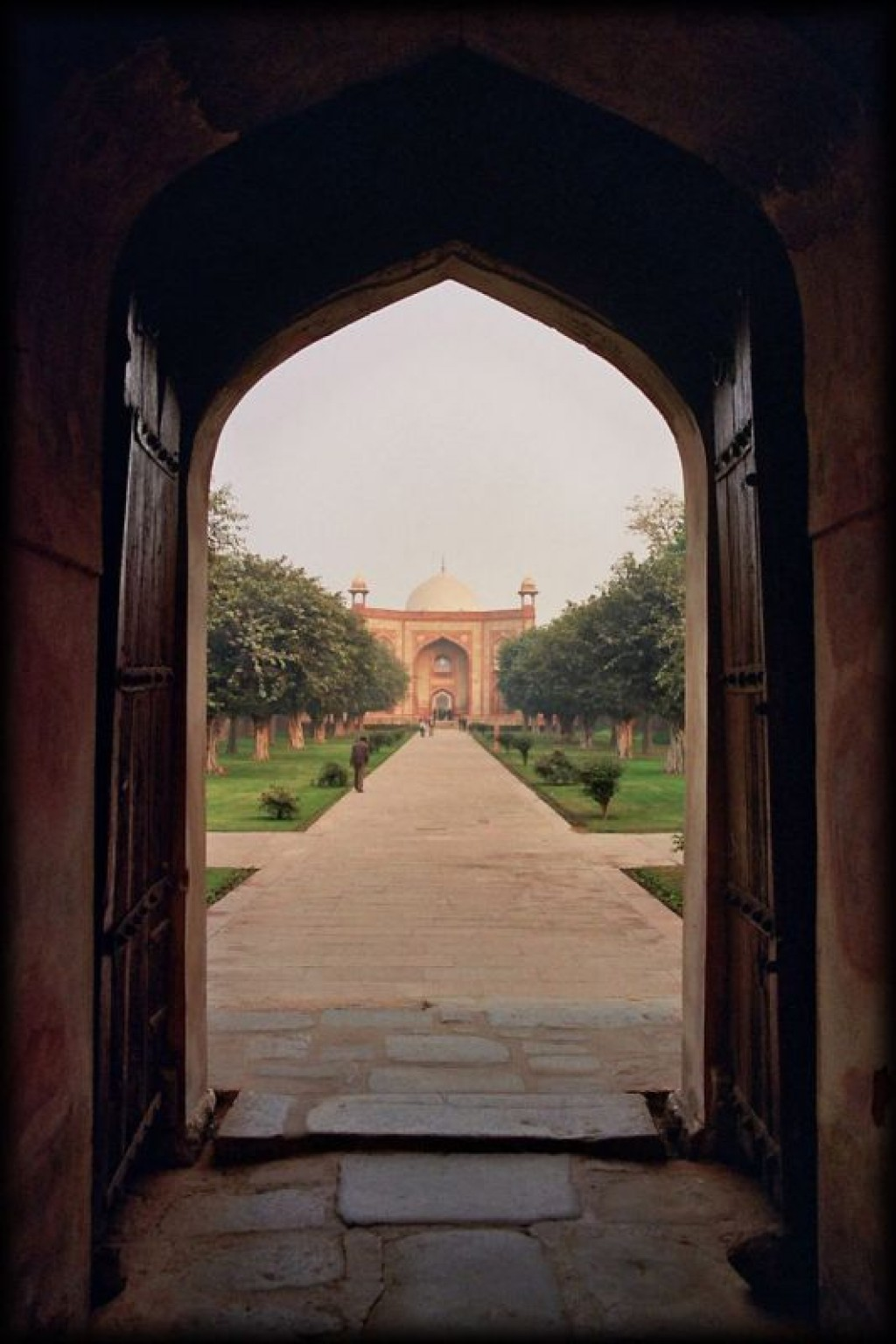 We visited Humayun's Tomb in Delhi.  It was one of our favourite sights.