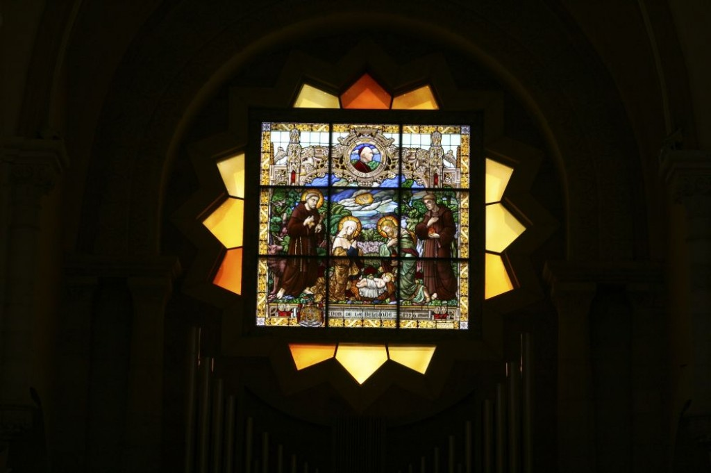 Stained Glass in the Church of St Catherine