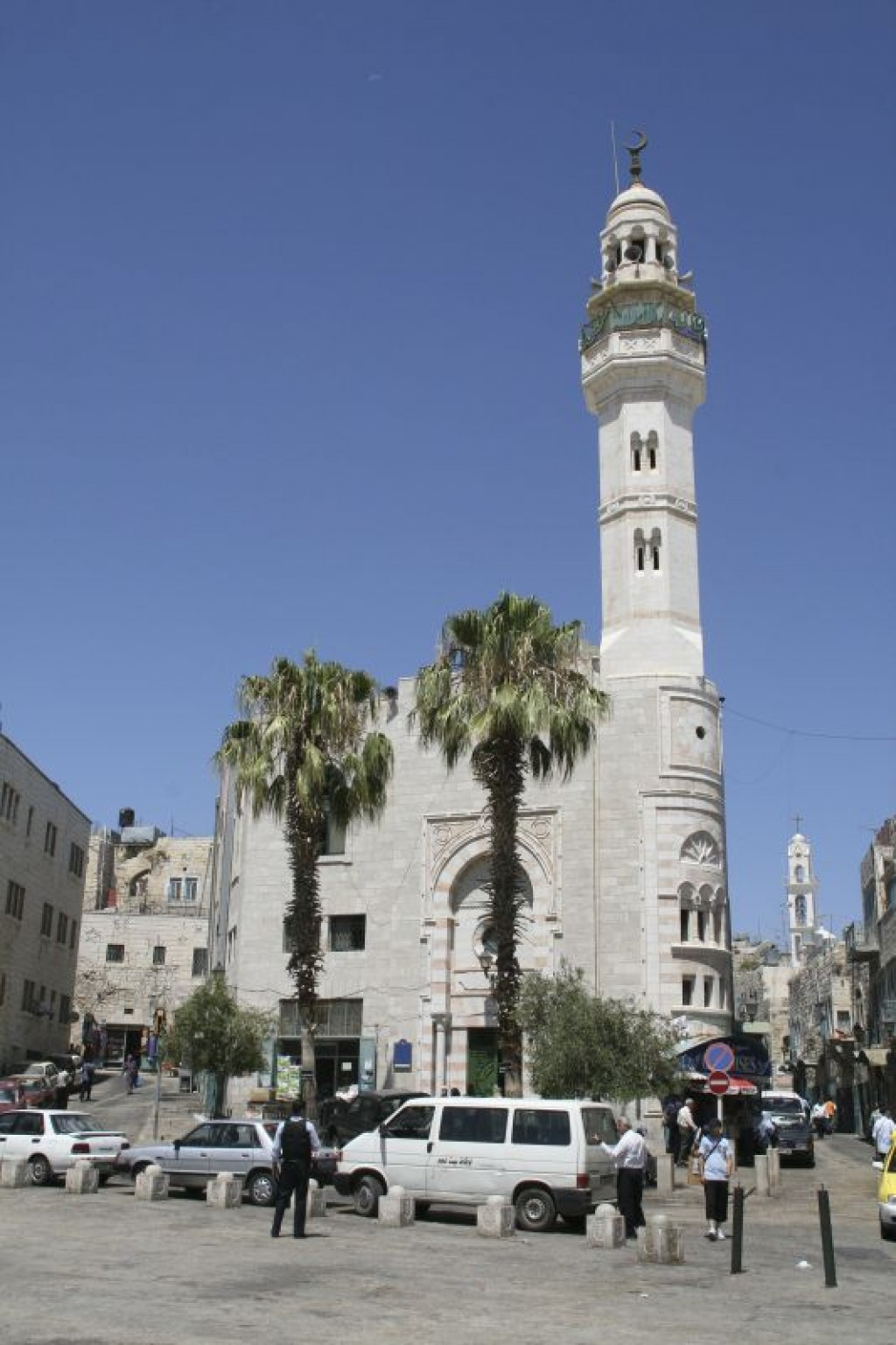 Mosque of Omar, in Manger Square in Bethlehem.