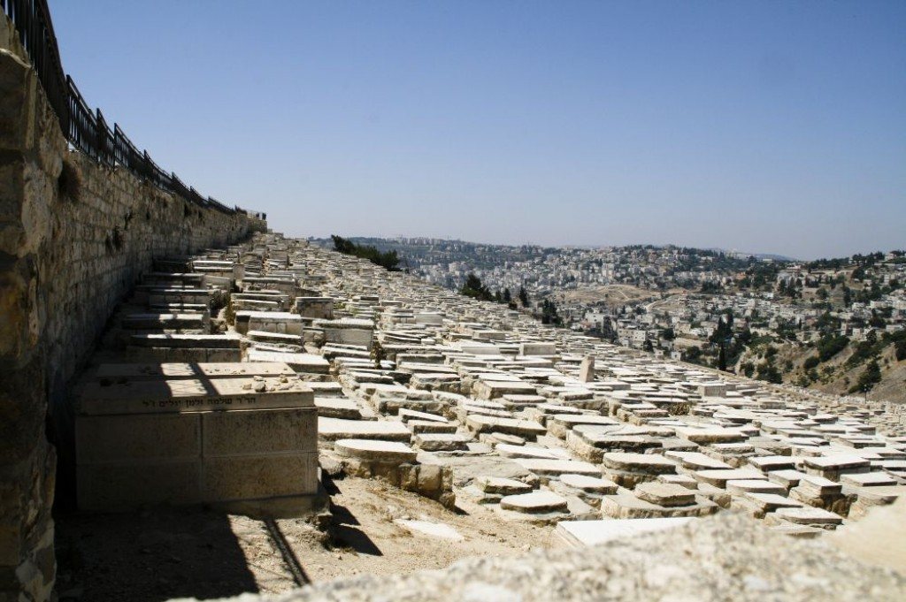 Jewish cemetary on the Mount of Olives