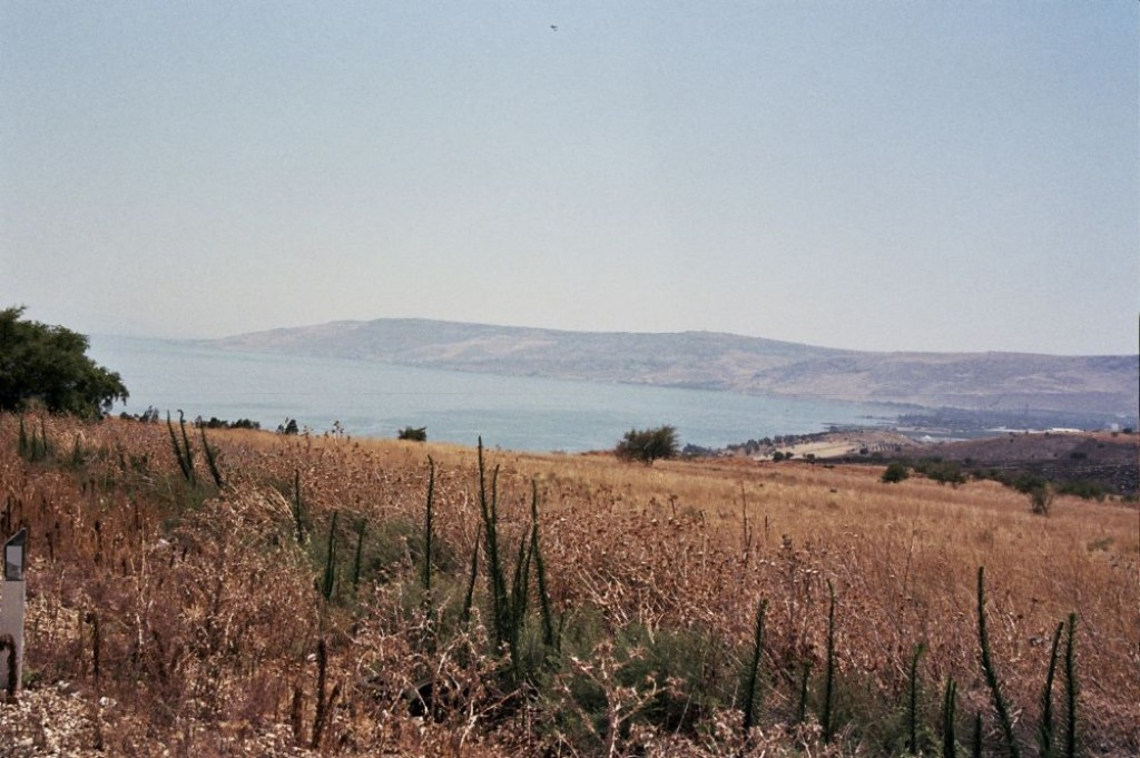 We took a driving tour around the Sea of Galilee.