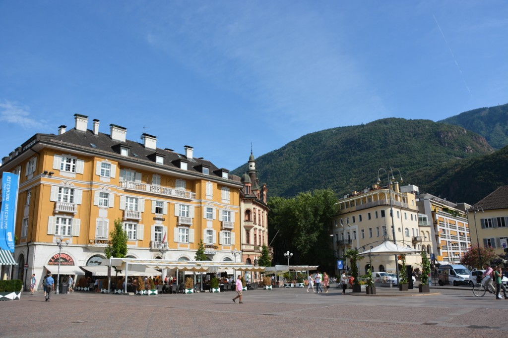 We spent an evening in Bolzano to see Otzi the Iceman, but we also enjoyed wandering around the old town.
