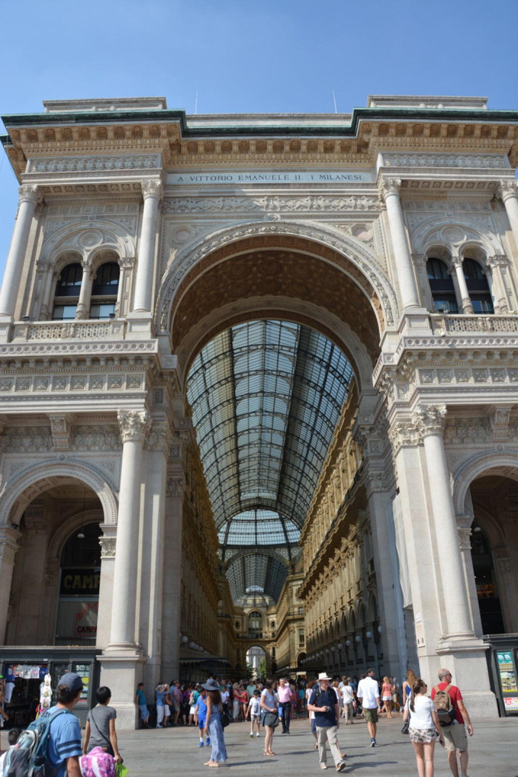 Shopping mall / Gallery beside the Milan Cathedral