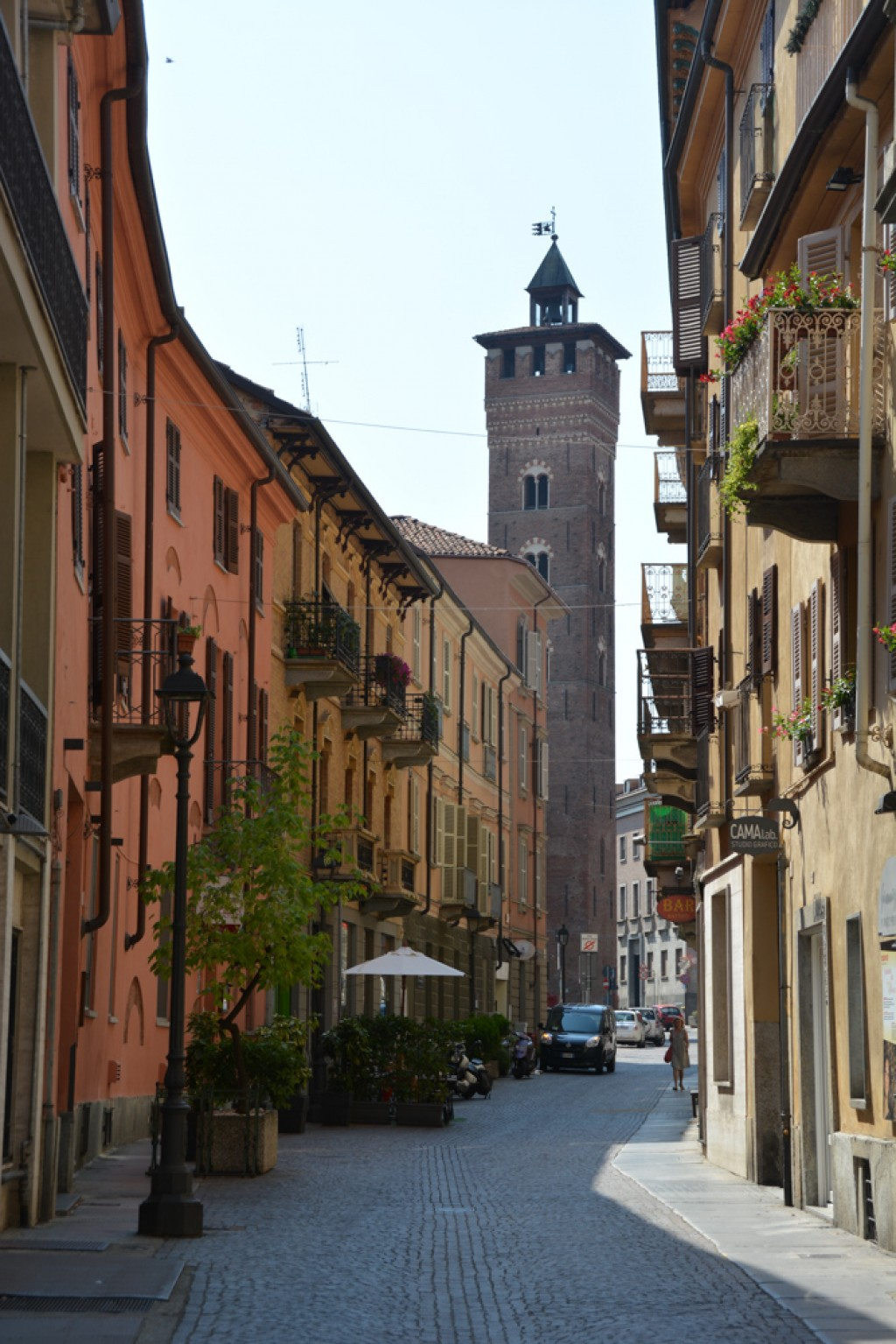 Exploring the streets of Asti