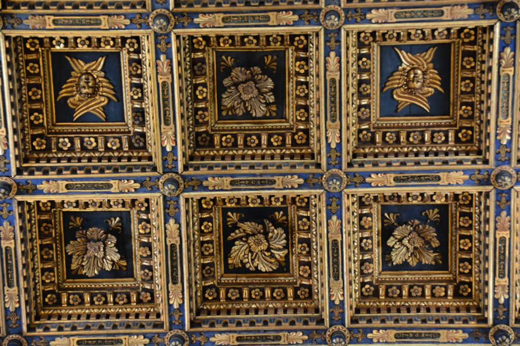 Ceiling of the Cathedral of Pisa