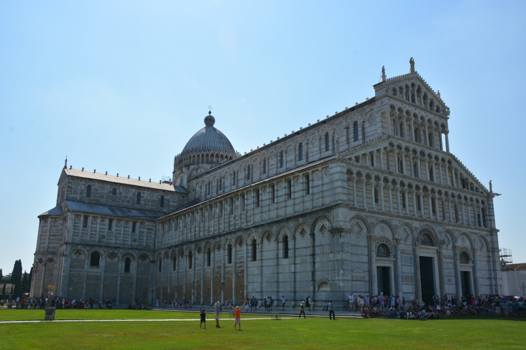We enjoyed our time in Pisa. It was bite-sized, easy to walk around, and found the old town was beautiful beyond the famous Leaning Tower of Pisa and the cathedral.
