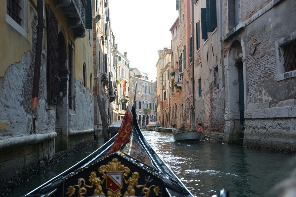 When we here in 1995 as starving students, we could't afford a gondola ride.  This time we could! :)