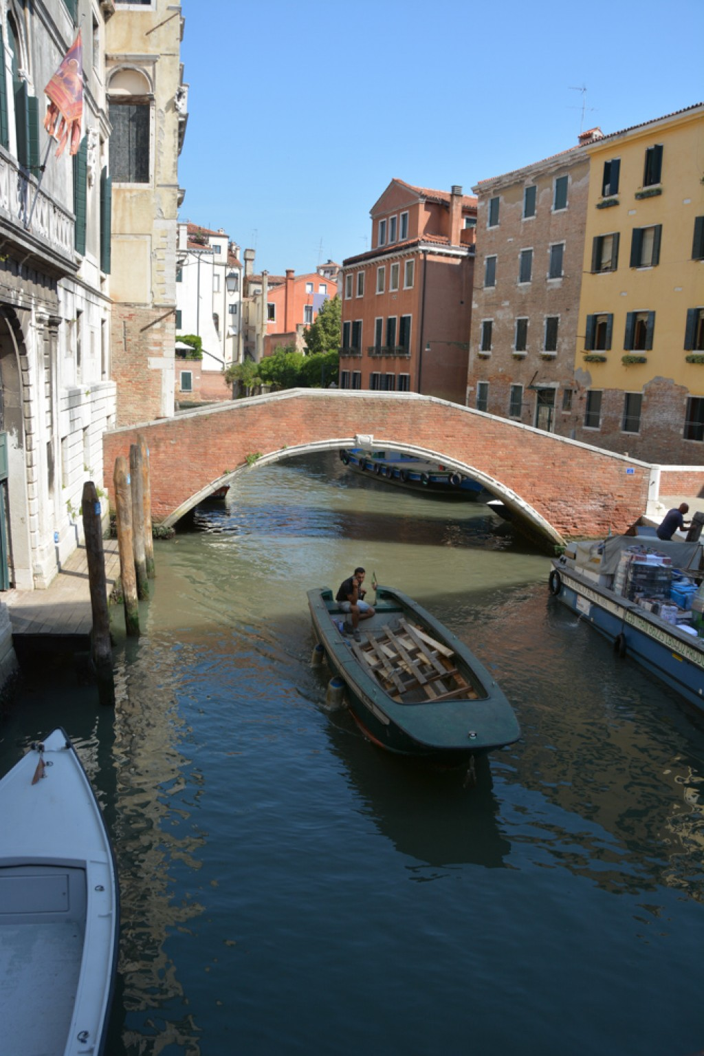 We returned to Venice after 20 years.  The weather was oppressively hot, but we had beautiful sunshine the whole time we were there.  Venice is one of our favourite cities - everywhere you look the beauty is overwhelming.