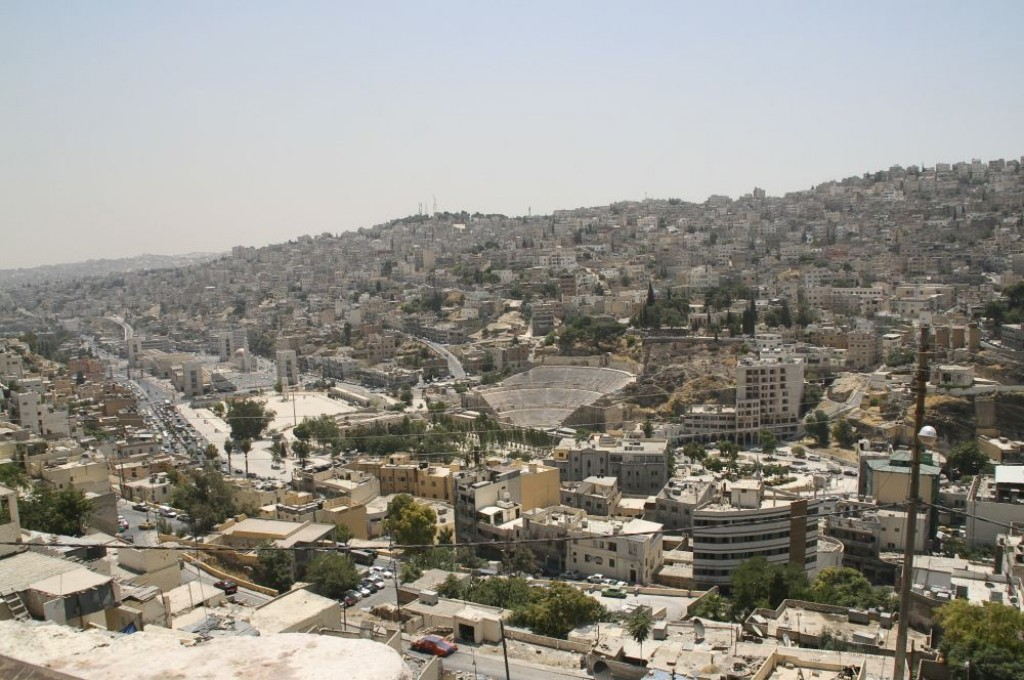 View of Amaan from the Citadel