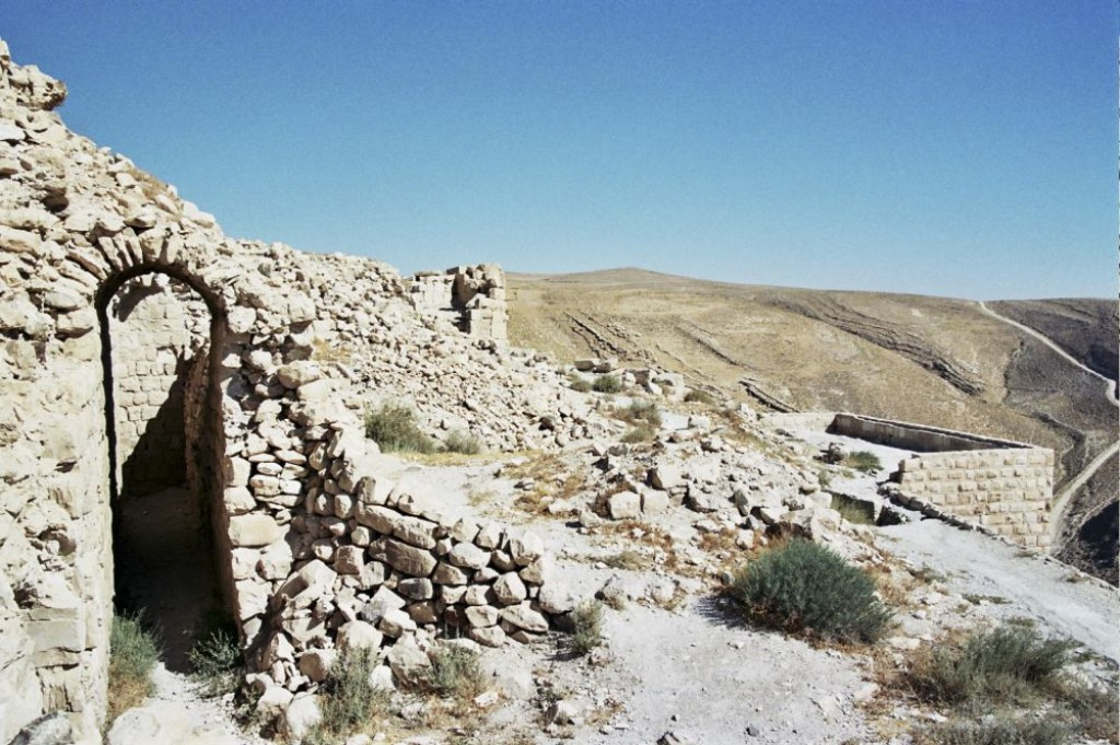 At Shobak Castle, on the Kings Highway, we really had to use our imagination to know what the castle used to look like.  There was some interesting rock formations nearby, though.