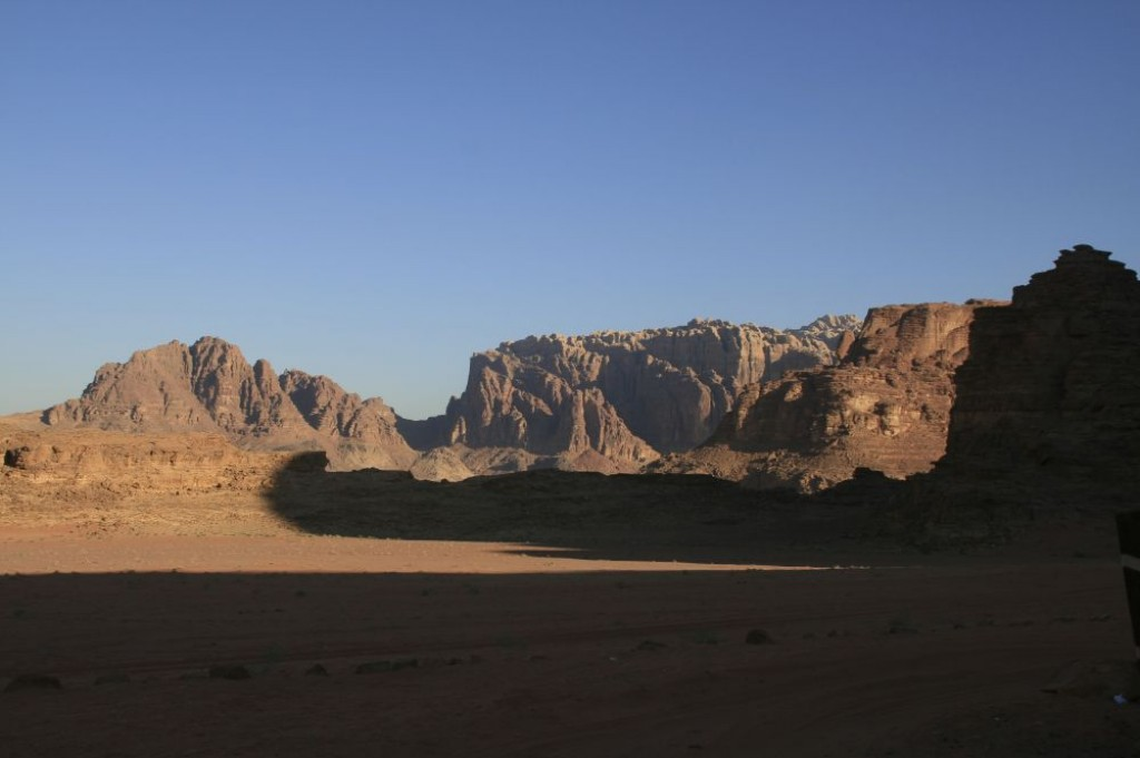 Wadi Rum was a highlight of Jordan for us.  The desert scenery was amazing - although we don't have much positive to say about our guide, through Wadi Rum Mountain Guides.